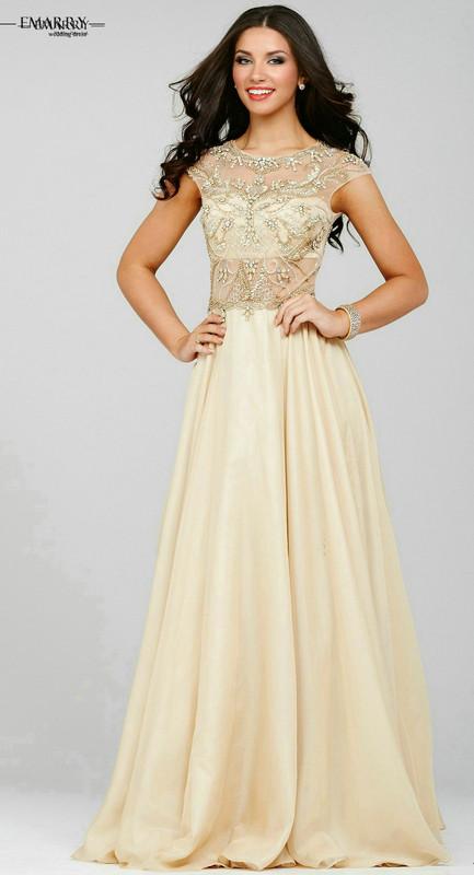 Zz56 сексуальная тонкий-линии шифоновое рукавов пром платья 2016 красивая - длина ну вечеринку девушка платье пром платья
