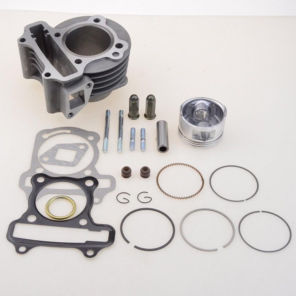 Купить GOOFIT Производительность Большого Диаметра 47 мм Цилиндр Комплект GY6 80cc для 139QMB Роллер Мопед ATV Go Kart Group-11-B