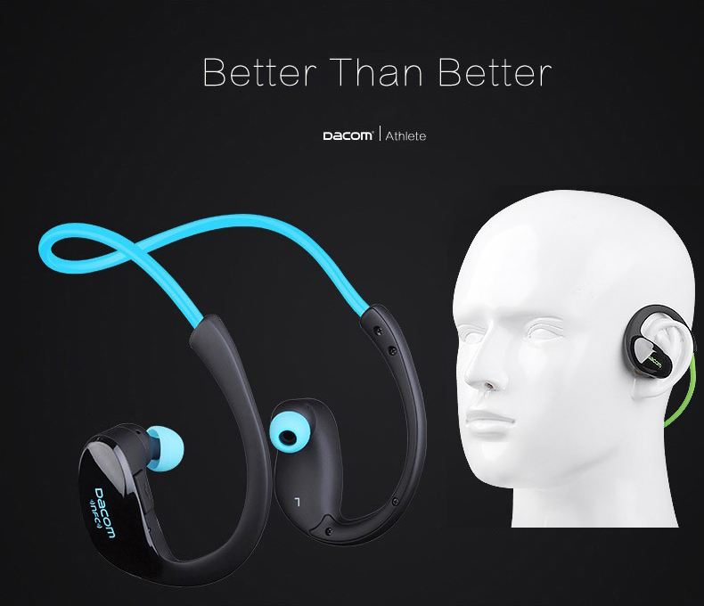 Dacom G05 With NFC Sweatproof Wireless Headphones Bluetooth Headset Bluetooth Earphone fone de ouvido hands free For Iphone