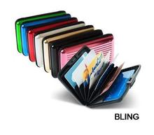 200pcs/lot New Hot Sale Aluminum Aluma Wallets Credit Card Holders Free Fedex Shipping Wholesale OPP Bag Pkg AU(China (Mainland))