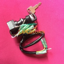 Remote Control Box Ignition Switch / Main Switch Assy 703-82510-43-00 for Yamaha Outboard Motors 703-82510-42-00 Push to Choke(China (Mainland))