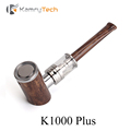 Wooden Pipe Electronic Cigarette Kit Vape Pen E Hookah Vaporizer E Pipe Kamry K1000 Plus E