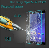KULE Protective Film For Sony Xperia M C1904/C1905 Original 0.3 mm 2.5D 9H Clear Tempered Glass Screen Protector Protective Film