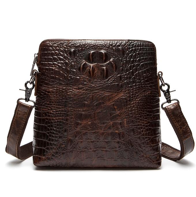 100% Guarantee Genuine Leather men bag High quality Natural Cowskin men messenger bags Vintage shoulder crossbody bag New 2015(China (Mainland))