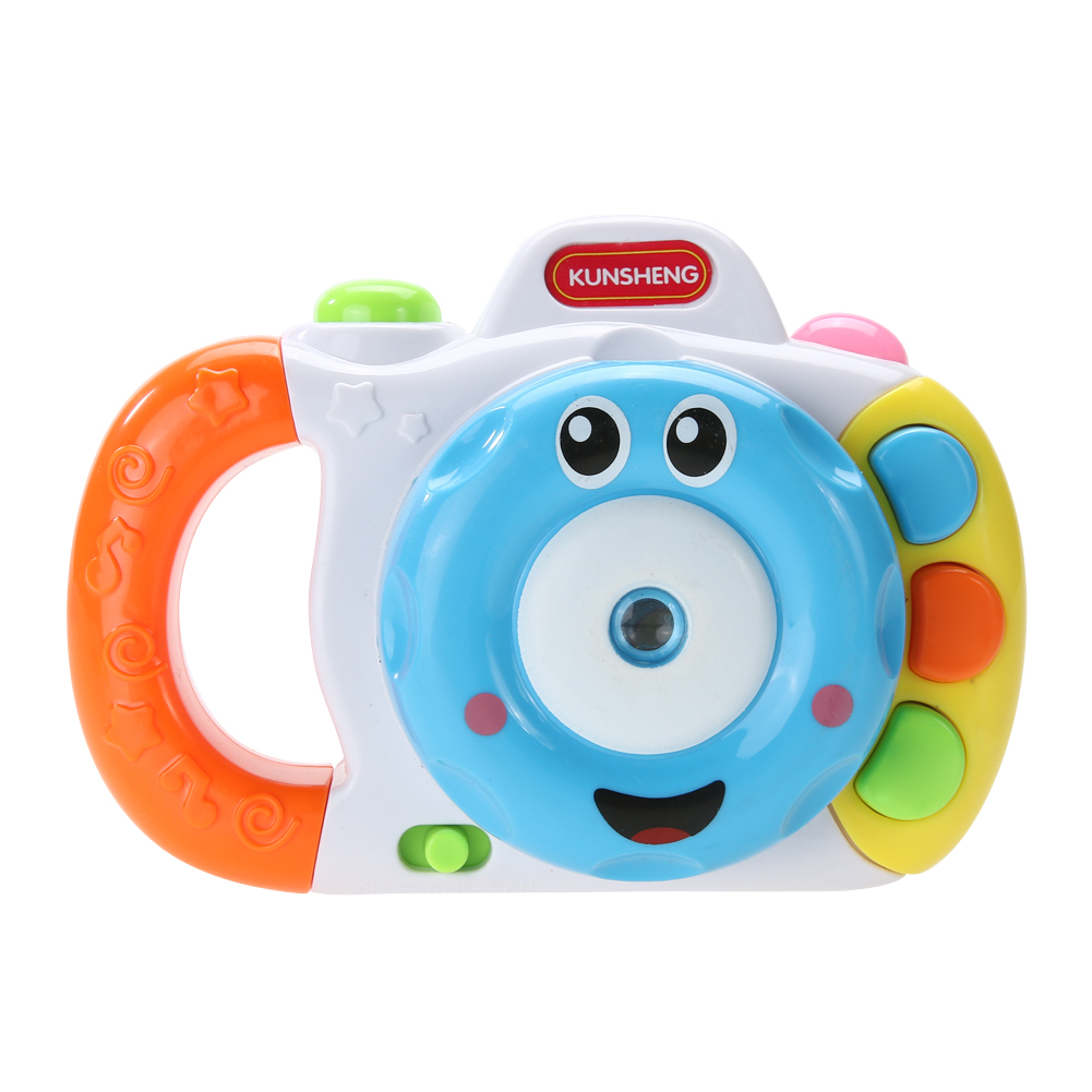 Baby Cartoon Mini Simulation Shining Projection Sounding Camera Intelligence Toy Developing Children Imagination and Creativity