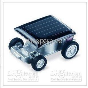 free shipping toy Gadget Robot Mini solar powered Car toys ,Racing car , solar energy 10pcs(China (Mainland))