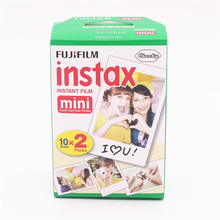 New 20pcs/box fujifilm instax mini 8 film 20 sheets for camera Instant mini 7s 25 50s 90 Photo Paper White Edge 3 inch wide film(China (Mainland))