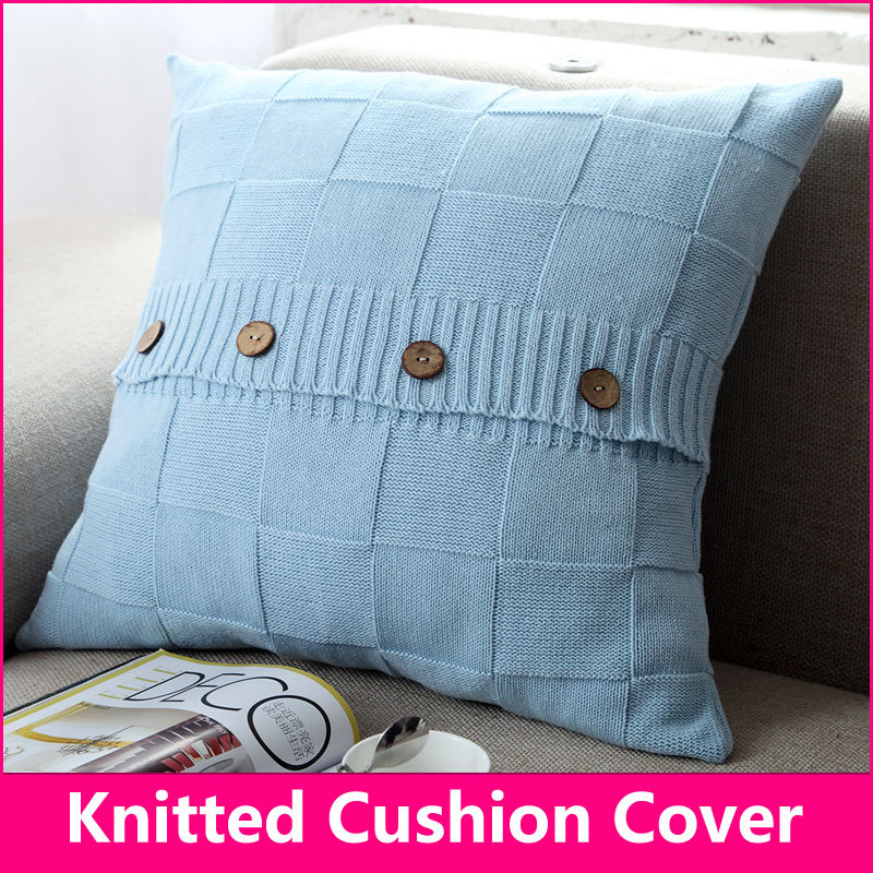 Cushion Cover Patterns to Knit images