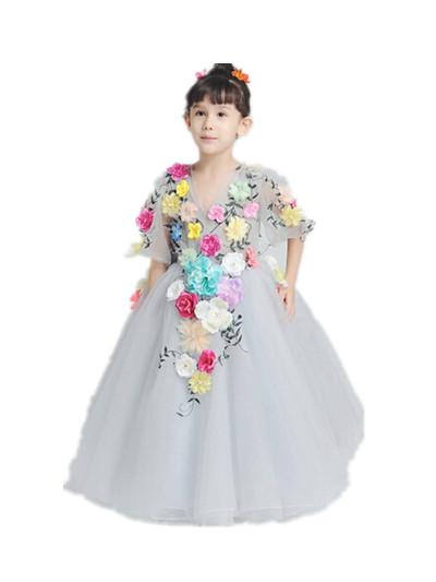 Baby Flower Girl Dresses for Weddings, 1 Year Birthday Dress Tutu for Girl Infant Princess Dress, Reine Des Neiges 80124<br><br>Aliexpress