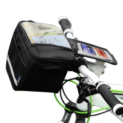 2014 new Outdoor Sport Fashion Bike Bicycle Navigation Handlebar Bag Touch Case For Less 5.5-inch Phone<br><br>Aliexpress