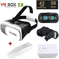 Head Mount Plastic VR BOX 2 0 Version Virtual Reality Glasses Google Cardboard for 3 5