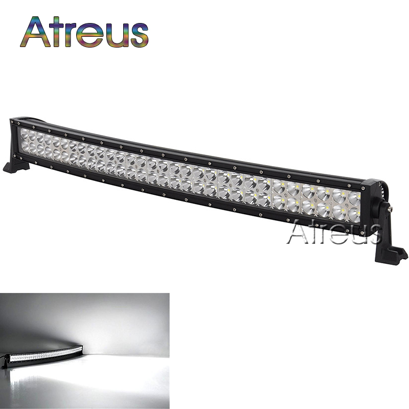 High Power 200w 20 Inch Jeep Accessories Led Light Bar For: 33inch 180w Curved LED Work Light Bar 12V Spot Flood High