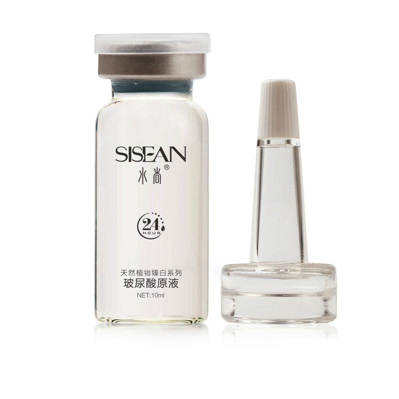 5PCS Face Care Pure Hyaluronic Essence Serum Face Care Skin Care Oil Lock Liquid Ampoules 10ml(China (Mainland))