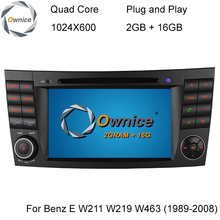 Quad Core Android 4.4 1024*600 Car DVD Player Mercedes Benz E Class W211 W209 W219 3G WIFI Radio Stereo GPS Navigation System - GreenYi Technology co., LTD. store