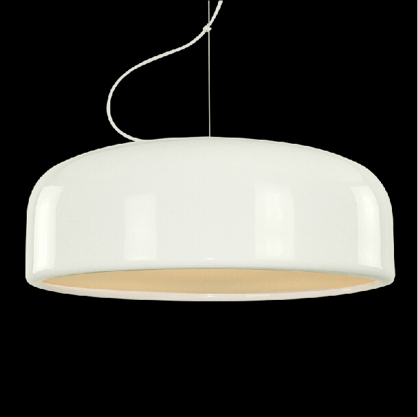 33% Off Italian Designer Jasper Morrison Cassic Pendant Lamp Smithfield Pendant Lights Dia48cm White/Black Lampshade With E27(China (Mainland))