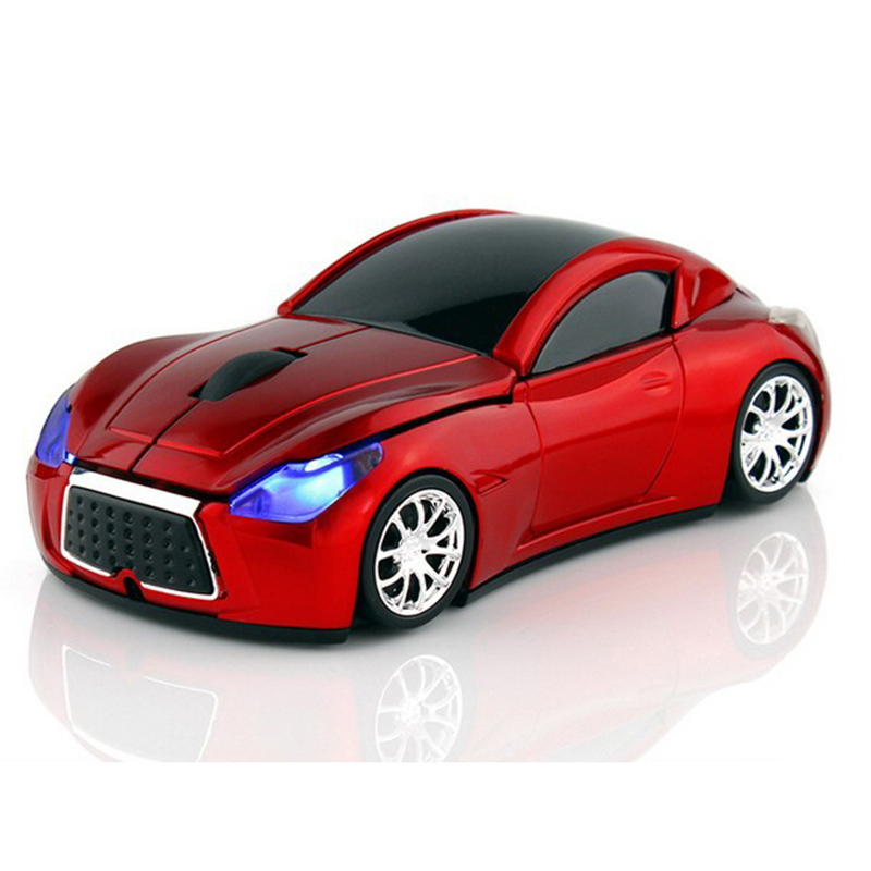 Computer Mouse 2.4GHz Infiniti Sports Car Wireless Mouse 1600 DPI Optical Gaming Mice for PC Laptop(China (Mainland))