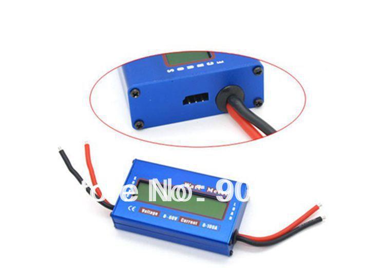 Big Discount !!! 10pcs/lot Brand New Digital 60V 100A Watt Meter Battery Balance LCD Power Analyzer(China (Mainland))