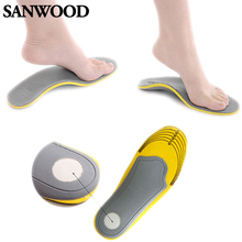 Pair 3D Premium Comfortable Orthotic Shoes Insoles Inserts High Arch Support Pad for women men 01XM 4ONI(China (Mainland))