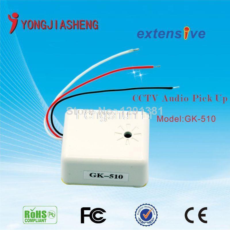 CCTV MINI  mic  oudio monitor sound monitor  microphone  free shippingYJS<br><br>Aliexpress