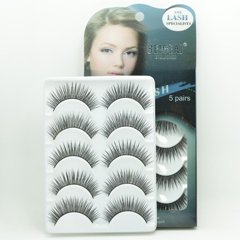 Popular Thick Long False Eyelashes Natural Looking Good Fake Eyelash Extension Eye Lash Retail Packing - Make You Up store
