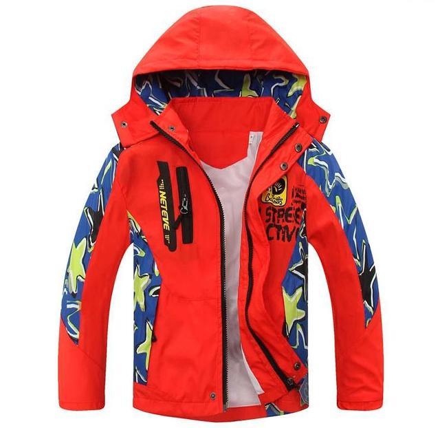 Дети Куртка Весна Осень Дети Мальчики Куртки И Пальто 5-14 Лет Подросток Мальчики Одежда Верхняя Одежда Для Мальчиков Doudoune Enfants