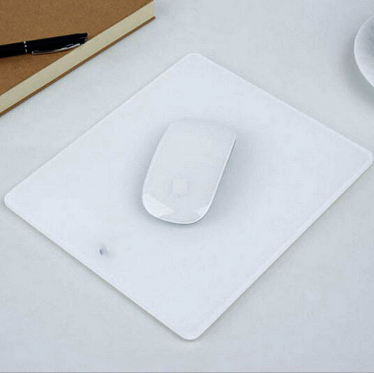 Acrylic Plexiglass Matte Surface Glass Game Mouse Pad Mat Design For Apple MackBook Mouse Pad 235*200*4 Free Shipping(China (Mainland))