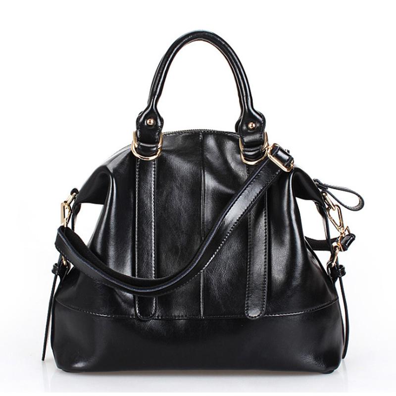 Low Price Factory outlets Women Split Leather Handbag Cowhide Tote Cross body messenger bag Fashion girl R004 - BAG-BAG store