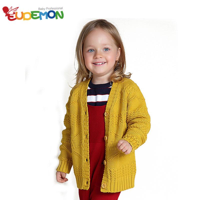 [Eudemon] Children Knitting Coat Girls & Boy Wool Sweater Kids Fashion HOT Roupas Infantis Menina Spring Autumn Kids Clothing(China (Mainland))