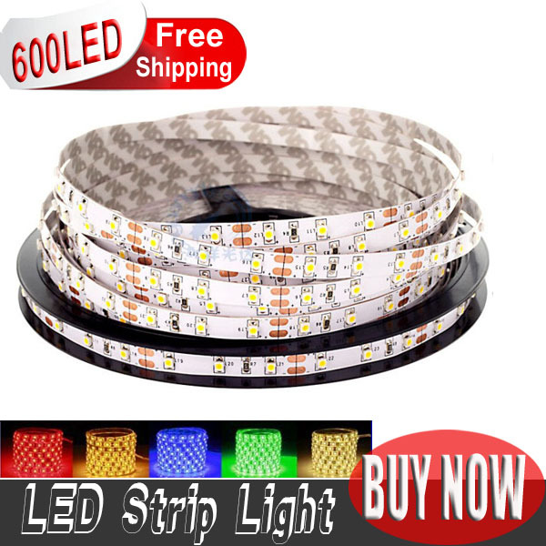 high quality SMD3528 120leds/m 5M DC12V non-waterproof led Flexible strip light string tape ribbon novelty households(China (Mainland))
