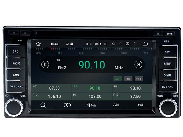 Android 6.0 CAR Audio DVD player FOR SUBARU Forester/Impreze (2008-2011) gps Multimedia head device unit receiver BT WIFI