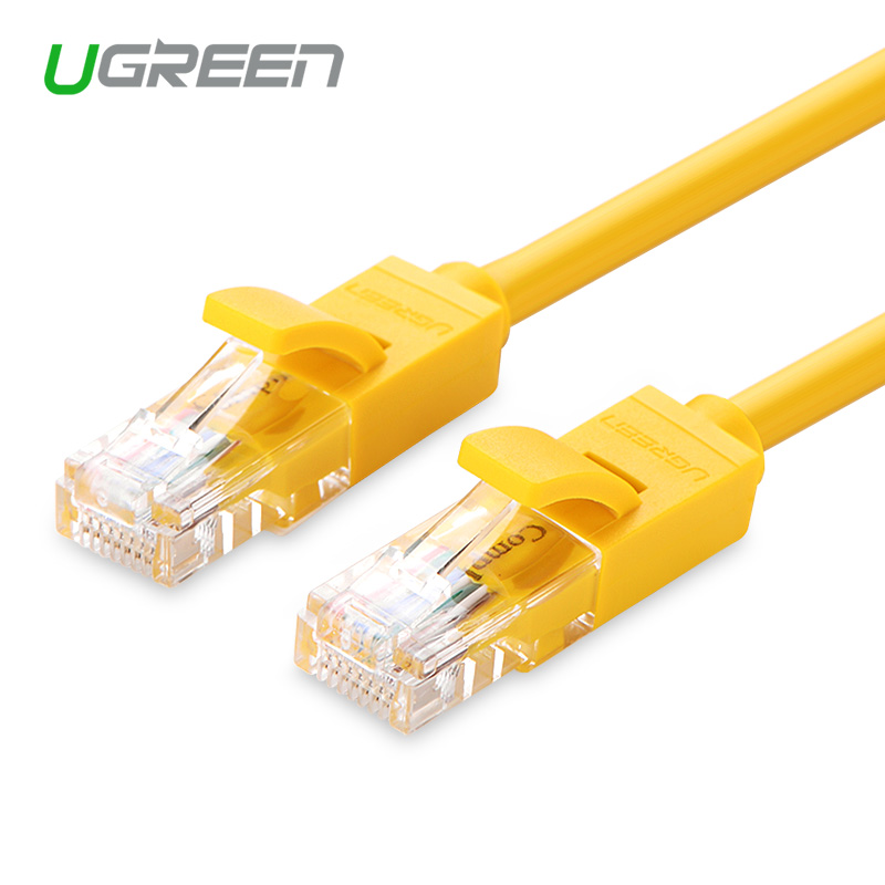 ugreen 1m 2m 3m 5m ethernet cable yellow cat 5 rj45. Black Bedroom Furniture Sets. Home Design Ideas