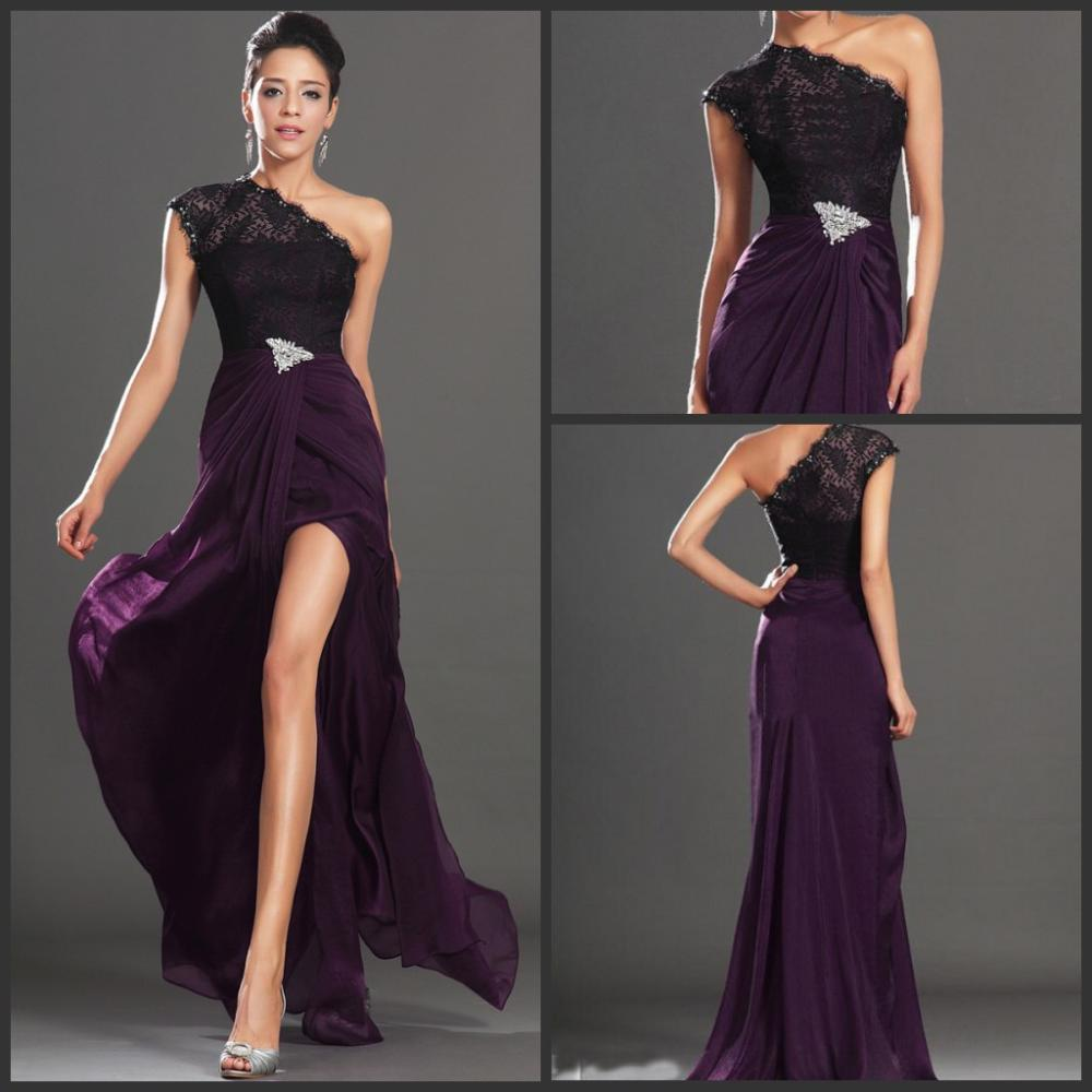 Dark Purple Prom Dresses 2015 Promotion-Shop for Promotional Dark ...
