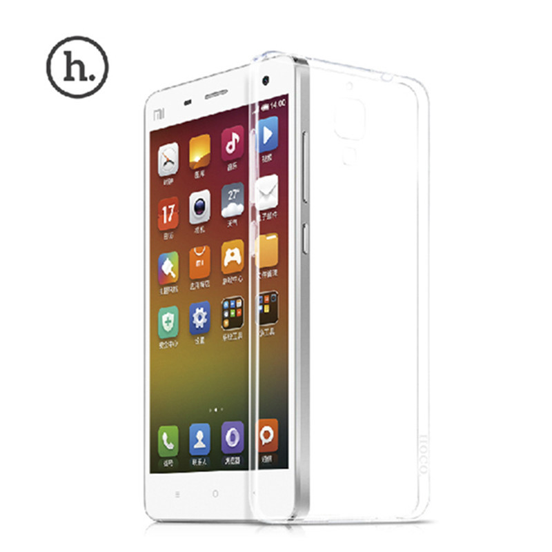 Xiaomi MI4 M4 Phone Case 0.3mm TPU Clear Crystal Transparent Ultra Slim back Cover Bags mi 4 New Fashion - Edward Technology Co,ltd store