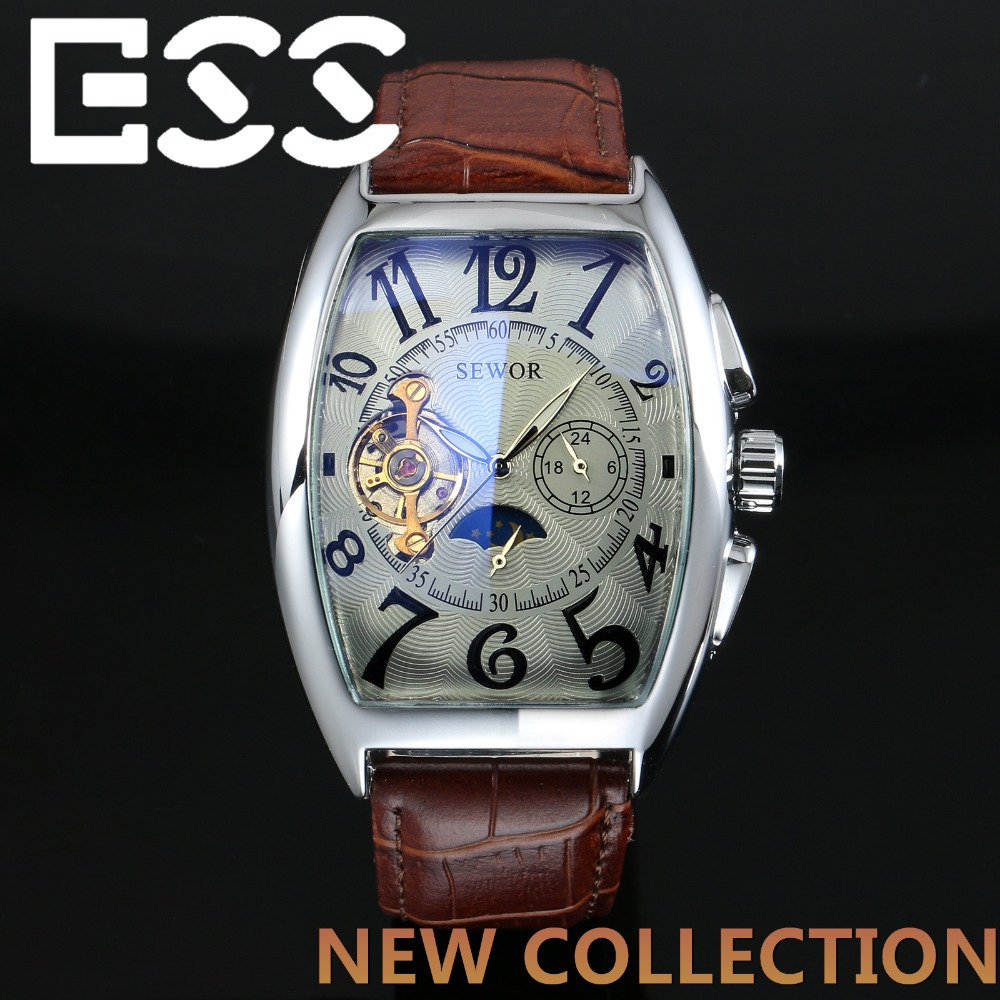 online get cheap lucky brand mens watch aliexpress com alibaba ess top brand new fashion rectangle watches men casual leather strap man wristwatches automatic watch relojes