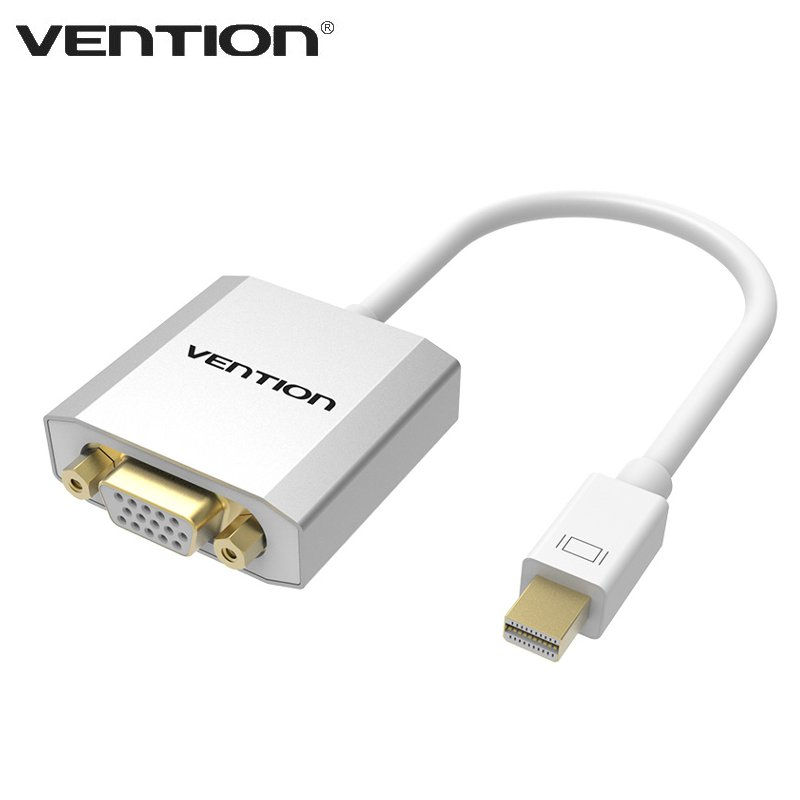 Vention DCAWB Series Mini DisplayPort To VGA Adapter Connector 0.15m DP Male To VGA Female Cable For Apple Tablet For Macbook(China (Mainland))