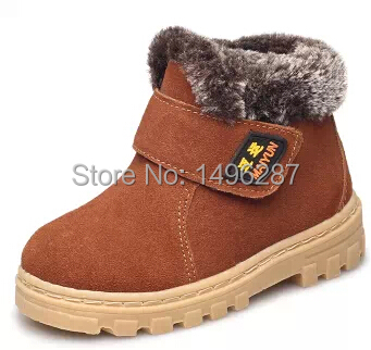 2016 Fashion Children shoes Martin boots Autumn Boys Girls Kids Ankle Flats Winter Snow - Flying Hao Trade LTD store