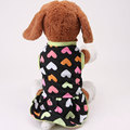 New Dog Clothes Pet Puppy Costume Clothing Printed Puppy Teddy Spring Summer Cotton Dress T shirt