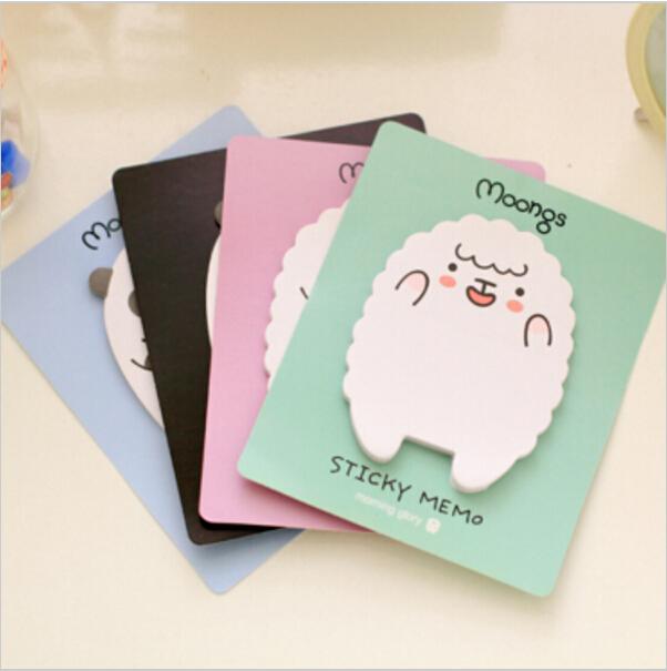 8pcs/lot Kawaii Moongs memo pad  Paper sticker Cute panda Post it note Sticky note Office Stationery School supplies WJ0005<br><br>Aliexpress