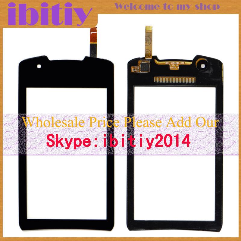 10Pcs/Lot Original For Samsung Monte 5620 S5620 Touch Screen Digitizer Sensor Front Glass Lens Black White