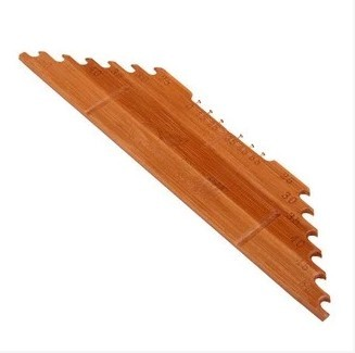 New Fishing Line Length Vertical Chord Lines Standard Ruler Line Transversal Board Hook From The Carbonized Bamboo(China (Mainland))
