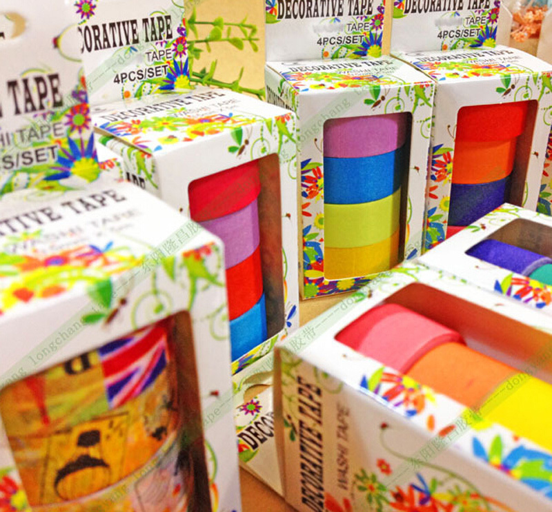 299 Patterns TOP Best Selling / Lot Decorative Adhesive Paper Tape Flower Designs Japanese Washi D40 - BONBON Novelty Department Store store