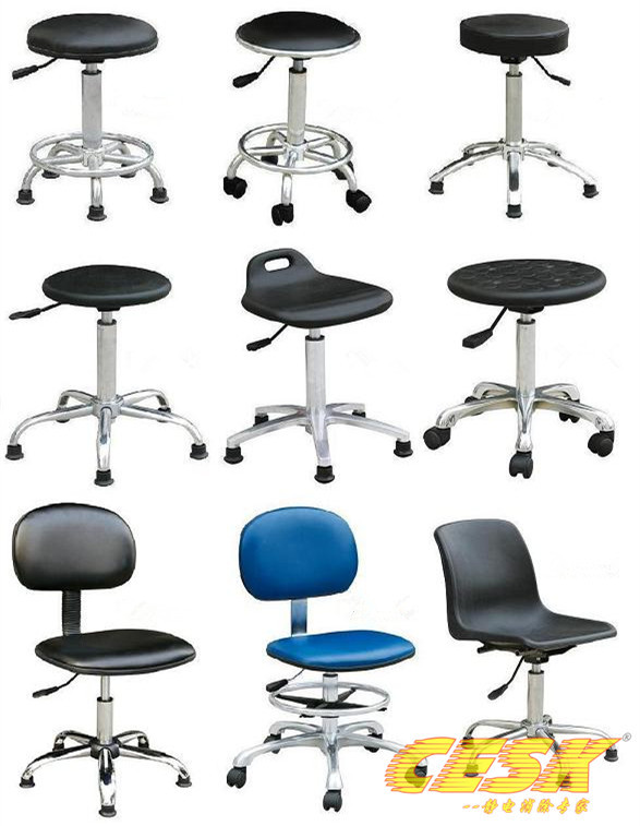 Anti-static chairs anti-static dust-free clean room chairs lift chairs PU foam leather chair(China (Mainland))