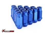 LIGHT WEIGHT WHEEL RACING LUG NUTS P:1.5/1.25, L:52mm (20Pcs/Set)