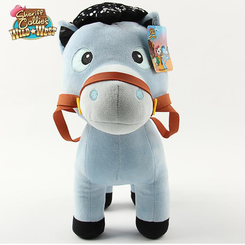 1PCS Sheriff Callie's Wild West Horse Plush Toys 20cm Horse Stuffed Dolls Toys Christmas/Birthday Kids Gift For Girls Boys(China (Mainland))