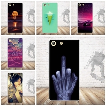 Buy NEW Sony Xperia M5 Dual E5603 E5606 E5653 Case Cover Skin Painted Phone Silicon Back Protector Sony M5 Case TPU Cover for $1.51 in AliExpress store
