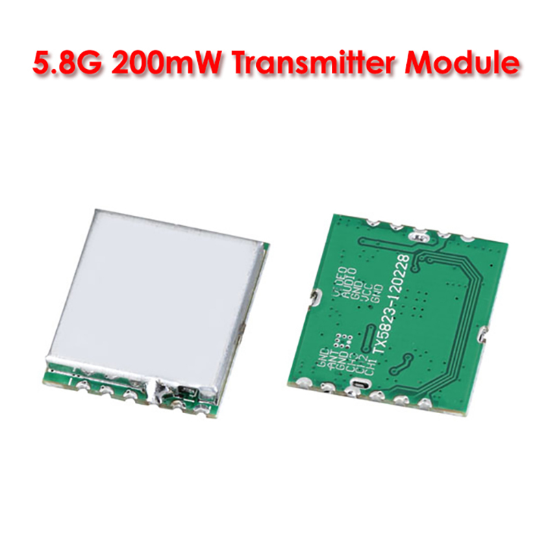 Boscam FPV RC 5.8G 5.8Ghz 200mW 8CH Wireless Audio Video Transmitter Module TX5823 quadcopter airplane DIY - Olivia Technology Co.,Ltd store