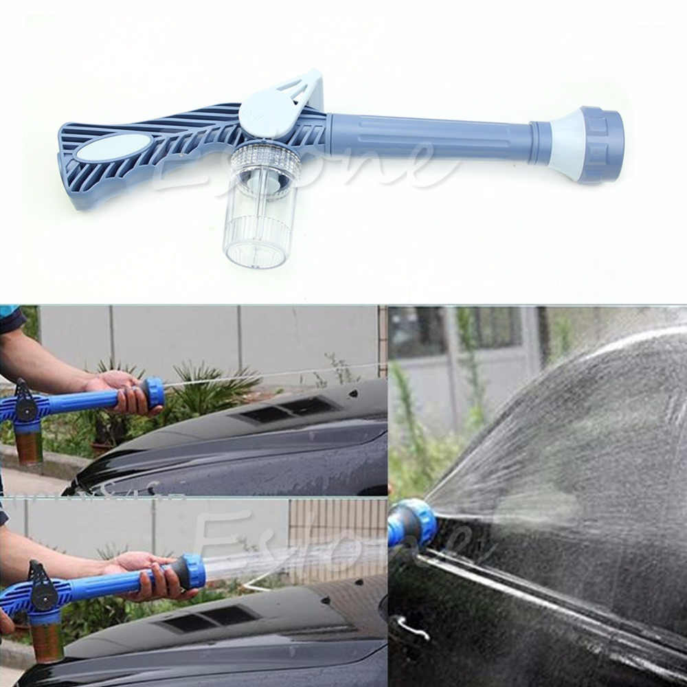 8in1 Multi Function Jet Garden Car Water & Soap Dispenser Cannon Spray Nozzle(China (Mainland))