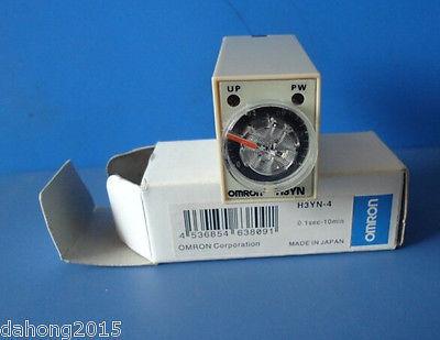 Фотография DHL/EMS 5 LOTS New in box OM-RON RELAY H3YN-4 100-120VAC  -E1