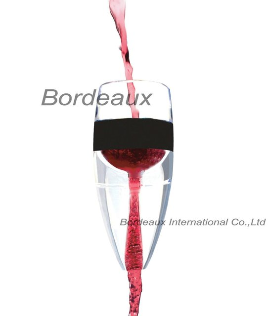 DHL Free shipping,HOT Sell 24pcs/lot,Max Portable Magic Wine Decanter, Red  Wine Aerator Filter,Wine Essential Equipment