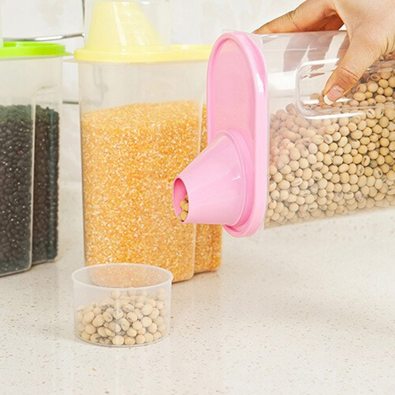 Food grain Plastic storage Box Containers Kitchen Accessories Candy Box Food Container Accesorios De Cocina Kitchen Tools(China (Mainland))